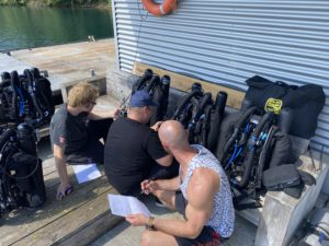 preparation for Rebreathers for CCR Course