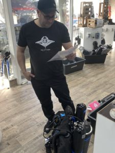 preparation of rebreathers for playtime